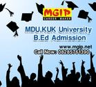 MDU,KUK University B.Ed Duration and Fees