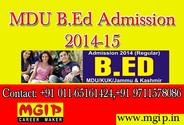 B.Ed from Haryana University