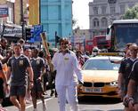 On 27 July 2012, he carried the Olympic torch during the last leg of its relay in London's Southwark.