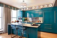 10 Blue Kitchen Decor Ideas You'll Want to Copy Today | Renovaten