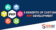 8 Benefits of Custom PHP Development