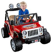 Power Wheels Jeep Wrangler (Lava Red/Black)
