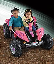 Power Wheels Camo Dune Racer (Pink)