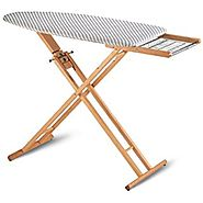 Solid Beech Wood Ironing Table