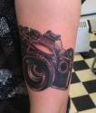 Olympus 0M10 by my best friend Andy Tragic at Inki Fingers in… | My Tattoo