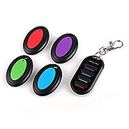 Key Finder Key Locator,Aoonar Key Tracker Key Tags Key Chain Wireless RF Key Item Locator Bag Pet Cell Wallet Locator...