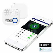 iTrack Motion Key Finder Bluetooth, Wireless Smart Keys Tracker Locator Device for Phone, Kids, Keychain, Wallet, Bag...