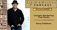 "Barry Feldman- ""Content Marketing That Rocks"" - Jeffrey Shaw Blog Site"