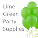 Lime Green Party Supplies and Decorations