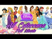 ♥ Disney Princess My Fairytale Adventure - All Cutscenes FULL MOVIE