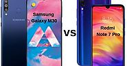 Redmi Note 7 Pro vs Samsung Galaxy M30: Who's On Heavy? - catchme11