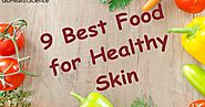 9 Best Food for Healthy Skin | Simple and Effective at Home - Go Health Science