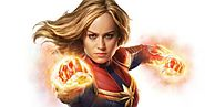 Captain Marvel Comics Character - MARVEL COMIC ARTS IN WORLD