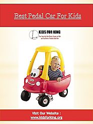 Best Pedal Car For Kids