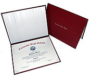 Buy certificate folders, school diploma covers, diploma cases