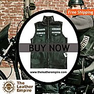 Son Of Anarchy Vest Biker Coat