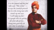 Swami Vivekananda on Self Confidence - YouTube