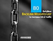 Top 80 Dofollow High DA Profile Backlink Sites List 2019 [Updated]