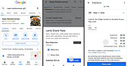 Google Allows Order Food Directly From Search Results