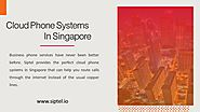 Cloud Phone Systems in Singapore - SIPTEL