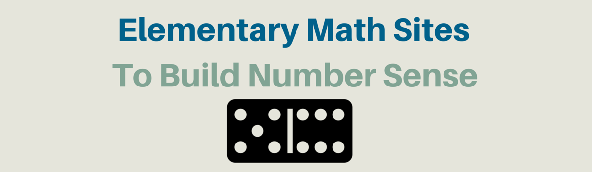 Headline for Elementary Math Websites To Build Number Sense