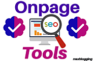 10 Best Free onpage seo checker tool in 2019 - Max Blogging