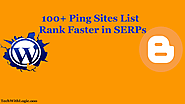 100+ Ping Sites List to Rank Faster in 2019-20 - Tech With Logic