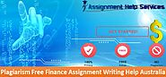 Sweep All Your Finance Writing Worries by Availing our Writing Service