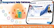 Quick Cost Accounting Assignment Help