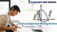 Calculus Assignment Writing Services