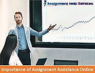 Importance of Assignment Assistance Online