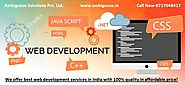 Ambiguous Solutions Pvt. Ltd: Web Development Company, Design, Digital Marketing, PPC,SMO,SEO Service Provider in Noi...