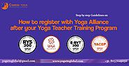 Registered Yoga School | How to Register with Yoga Alliance