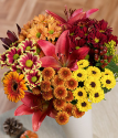 Auburn Fall Bouquet | Flowers By Post | Bunches.co.uk