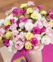 Large Spray Carnations Bouquet | Spray Cascade XL | Bunches.co.uk