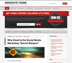Generate Theme by StudioPress