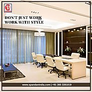 Furnish your office in the way which enhances your style with Spandan Office Furniture.