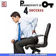 Chairs that are not comfortable can affect the productivity of employees