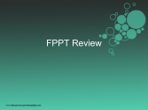 Fppt review