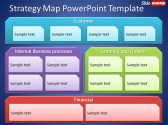 Free Strategy Map PowerPoint Template - Free PowerPoint Templates - SlideHunter.com