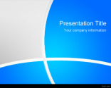 Blue Manager PowerPoint Template | Free Powerpoint Templates