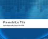 Abstract Blue PowerPoint Template | Free Powerpoint Templates