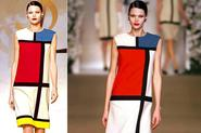 "YSL'S ""Modrian Dress""-Inspiration: Modrian and Modern Art"