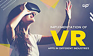 Implementation of VR Apps in Different Industries