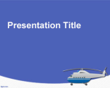 Helicopter PowerPoint Template | Free Powerpoint Templates