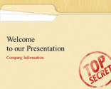 Top Secret PowerPoint Template