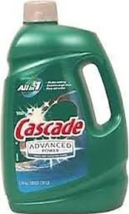 Cascade Advanced Power liquid machine dishwasher detergent with Dawn, 125-fl. oz., plastic bottle (125 fl oz)