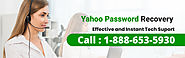 Yahoo Password Recovery 1-888-653-5930 | Support Email