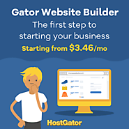 Custom website in minutes with our Gator website builder by HostGator (TheBigBazar.Find The Best Opportunities For Yo...