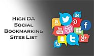 Top 50 High DA Social Bookmarking Sites List 2019 - Backlinks